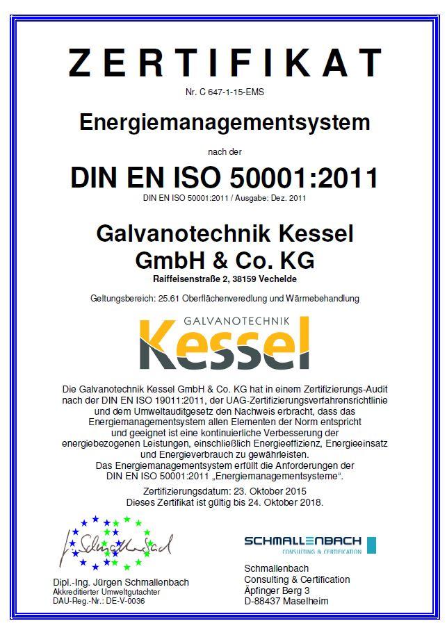 Energy management - Galvanotechnik Kessel GmbH & Co. KG | Technische ...
